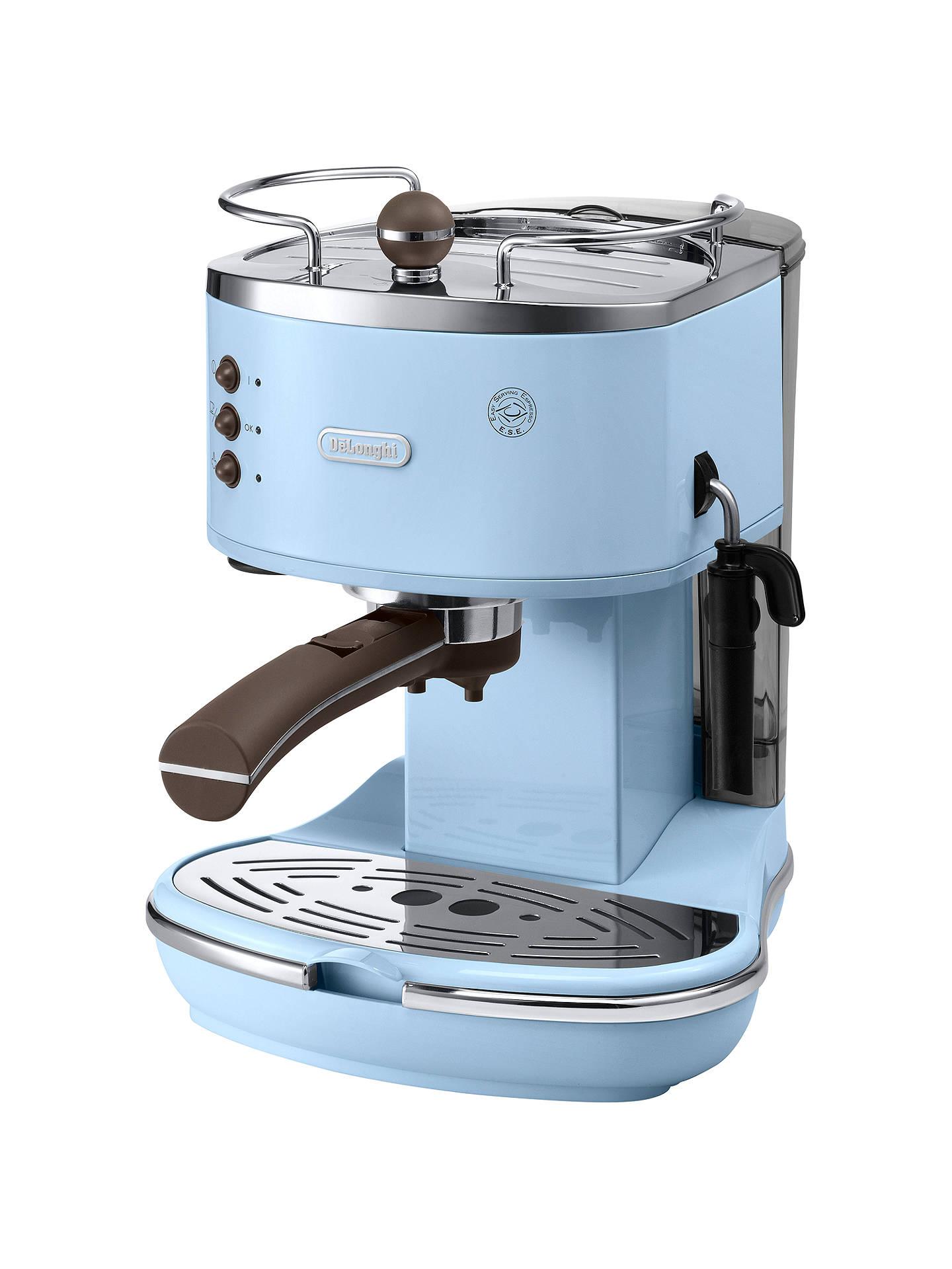 Delonghi Icona Espresso Coffee Machine Light Blue At John