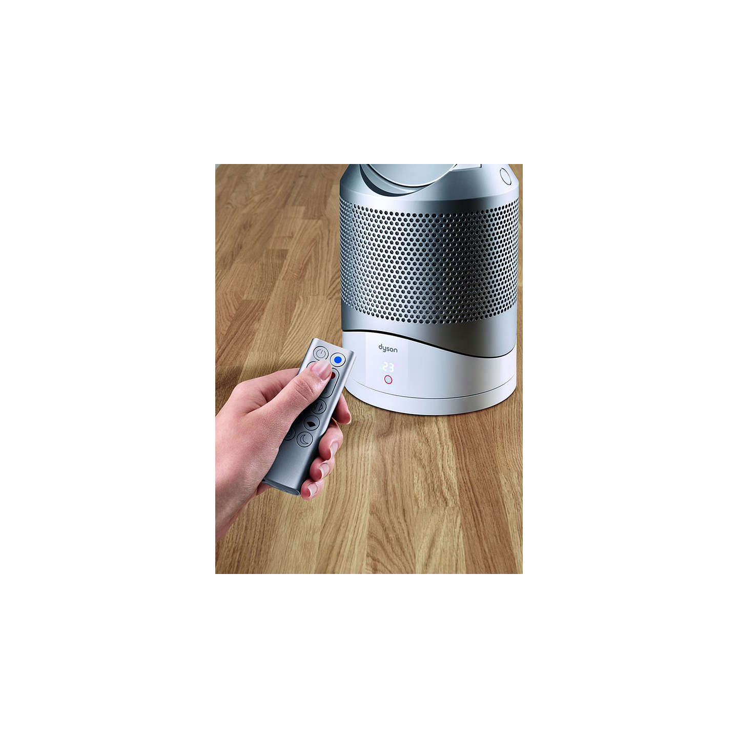 BuyDyson Pure Hot + Cool Link™ Fan Heater Air Purifier, White/Silver Online at johnlewis.com