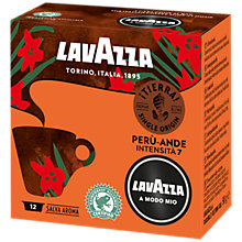 Buy Lavazza A Modo Mio Selva Alta Peru Espresso Capsules, Pack of 12 Online at johnlewis.com