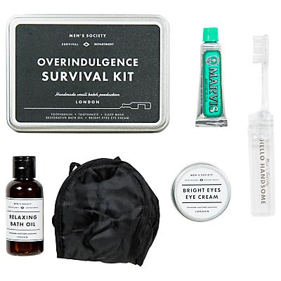 Image of Men's Society Overindulgence Survival Kit