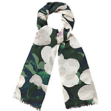 Buy Phase Eight Leaf Wool-Blend Scarf, Multi Online at johnlewis.com