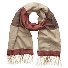 Buy Phase Eight Billie Tassel Scarf, Multi Online at johnlewis.com