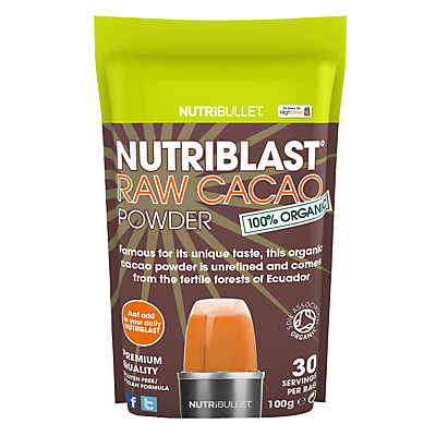 NutriBlast Powder, Raw Cacao Powder
