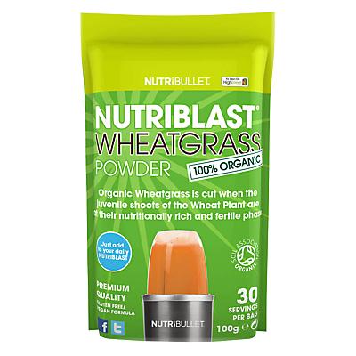 NutriBlast Powder, Wheatgrass