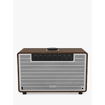 Revo SuperTone Bluetooth Speaker, Walnut/Silver