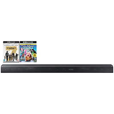 Samsung HW-K950 Dolby Atmos Bluetooth Wi-Fi 5.1.4 Sound Bar System With Wireless Subwoofer & Insurgent Blu-Ray