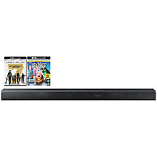 Buy Samsung HW-K950 Dolby Atmos Bluetooth Wi-Fi 5.1.4 Sound Bar System With Wireless Subwoofer & Insurgent Blu-Ray Online at johnlewis.com