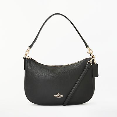 Coach Chelsea Polished Pebble Leather Cross Body Bag