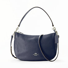 Buy Coach Chelsea Polished Pebble Leather Cross Body Bag Online at johnlewis.com