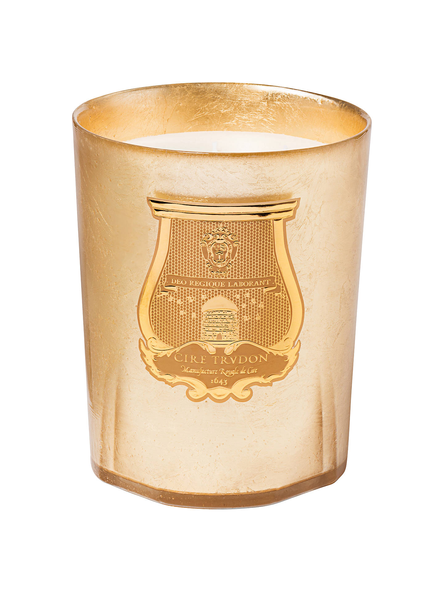 Cire Trudon Ernesto Candle Gold 3kg At John Lewis Partners