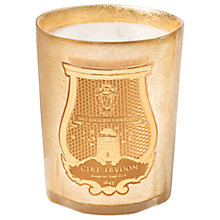 Buy Cire Trudon Ernesto Christmas Candle, Gold, 800g Online at johnlewis.com
