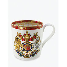 Buy Royal Collection Bone China Coronation Mug Online at johnlewis.com