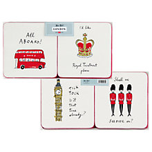 Buy Alice Tait London Coasters, Set of 4 Online at johnlewis.com