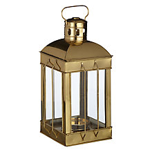 Buy John Lewis Brass Nautical Lantern Online at johnlewis.com