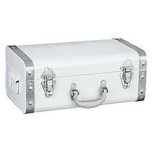 Buy John Lewis Vintage Coastal Trunk, White Online at johnlewis.com