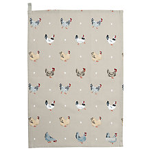 Buy Sophie Allport Chicken and Egg Tea Towel Online at johnlewis.com