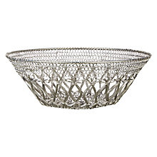 Buy John Lewis Fusion Wire Basket Bowl Online at johnlewis.com