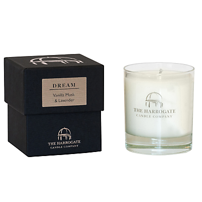 The Harrogate Candle Company Dream Candle – Vanilla, Musk & Lavender