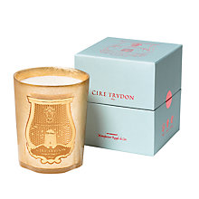 Buy Cire Trudon Adb El Kader Christmas Candle, Gold, 800g Online at johnlewis.com