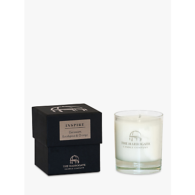 The Harrogate Candle Company Candle 'Inspire' Geranium, Eucalyptus & Orange