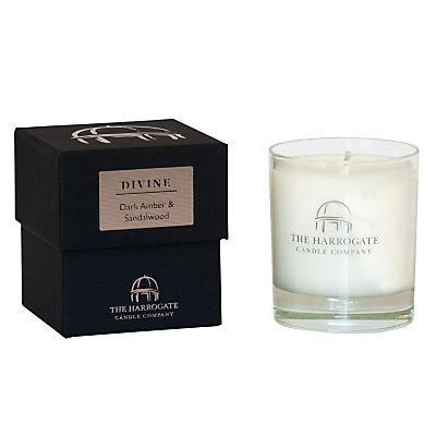 The Harrogate Candle Company Candle 'Divine' Dark Amber & Sandalwood
