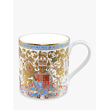 Buy Royal Collection Longest Reigning Monarch Mug Online at johnlewis.com