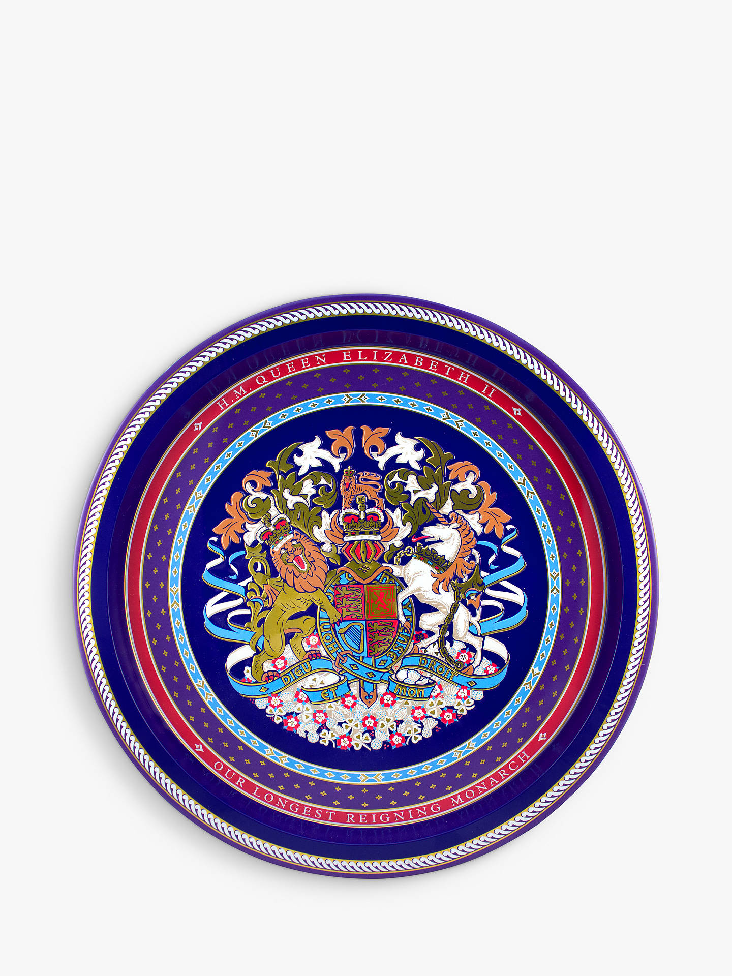 BuyRoyal Collection Longest Reigning Monarch Tray Online at johnlewis.com