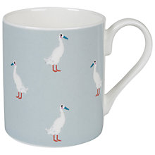 Buy Sophie Allport Runner Duck Mug, Blue Online at johnlewis.com
