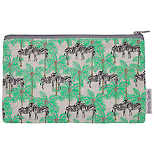 Buy Fenella Smith Zebra and Palm Tree Pencil Case Online at johnlewis.com