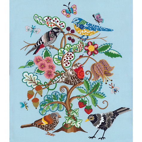 Buy Nicola Jarvis Loveday Epic Crewel Work Embroidery Kit | John Lewis