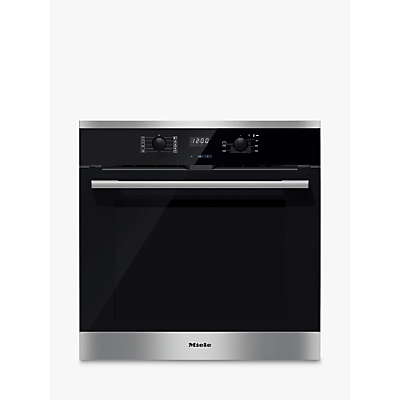 Image of Miele H2566BP Built-In Single Oven, Stainless Steel