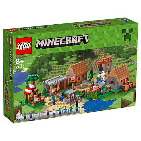buy lego minecraft the village john lewis. Black Bedroom Furniture Sets. Home Design Ideas