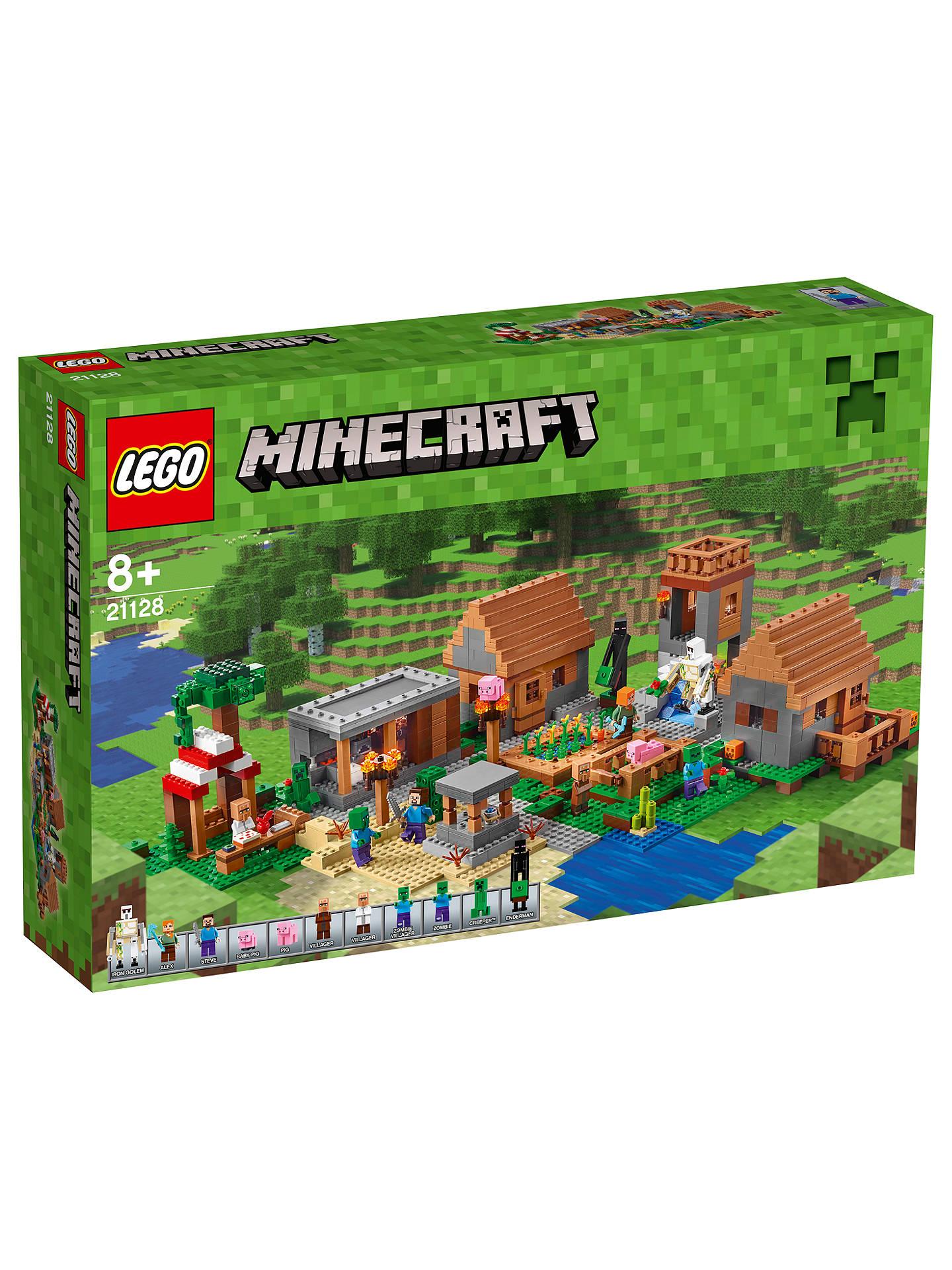 Lego Minecraft The Village At John Lewis Partners