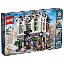 Buy LEGO Creator 10251 Brick Bank Online at johnlewis.com