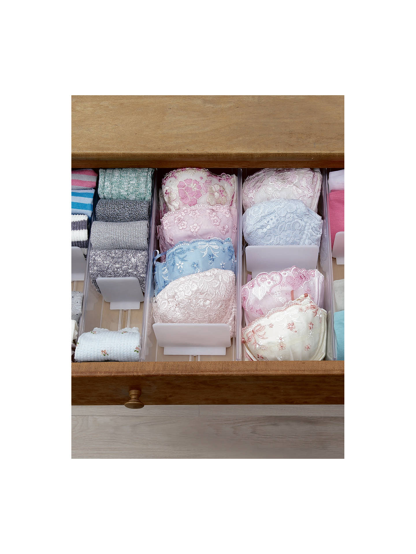 Buylike-it Socks Drawer Tidy Online at johnlewis.com
