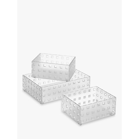 Buy Like It Bricks Storage Box Large Set Of 3 John Lewis