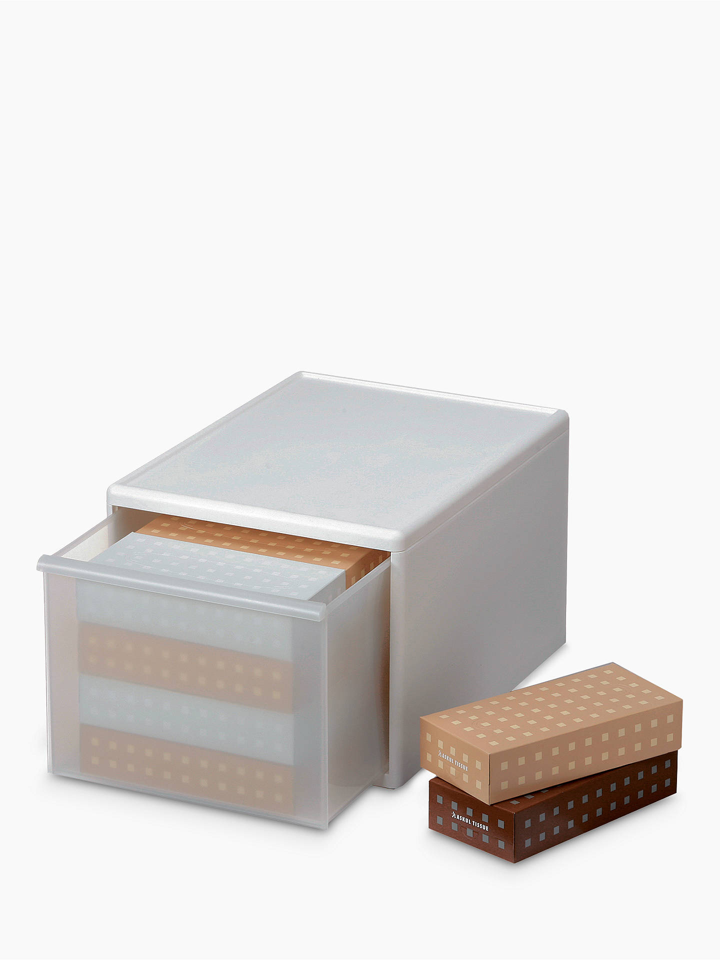 Buy Like-it Modular Plastic Storage Drawer, Large, W34cm Online at johnlewis.com