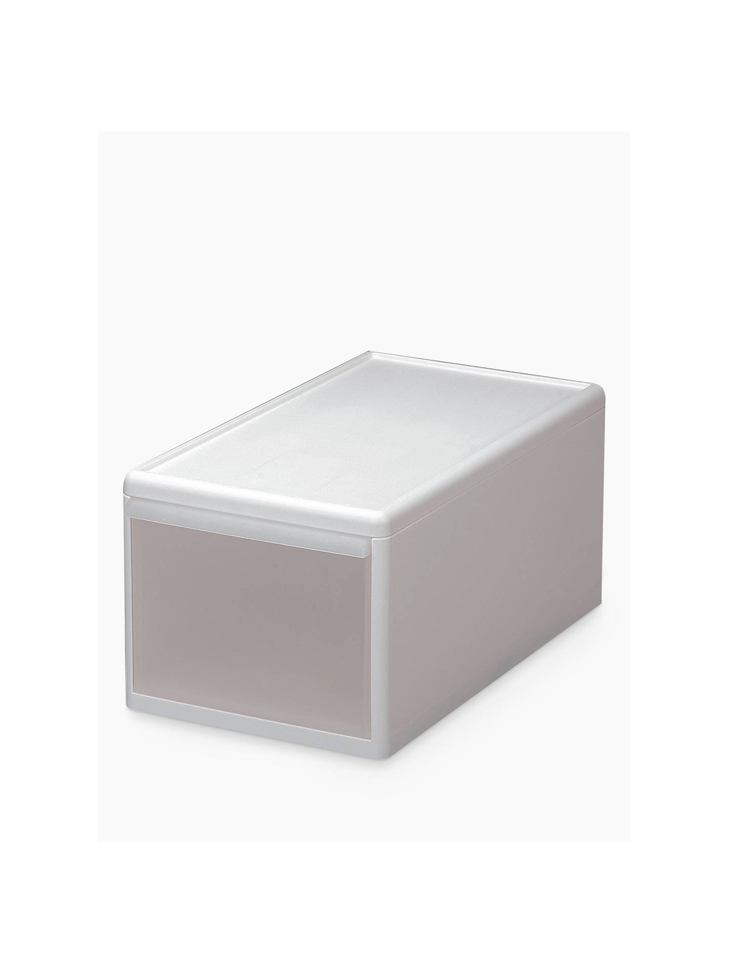 Buylike-it Unicom Plastic Storage Drawer, Medium, W25.5cm Online at johnlewis.com