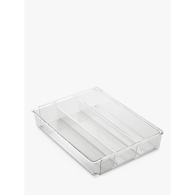 InterDesign Expanding Utensil Tray