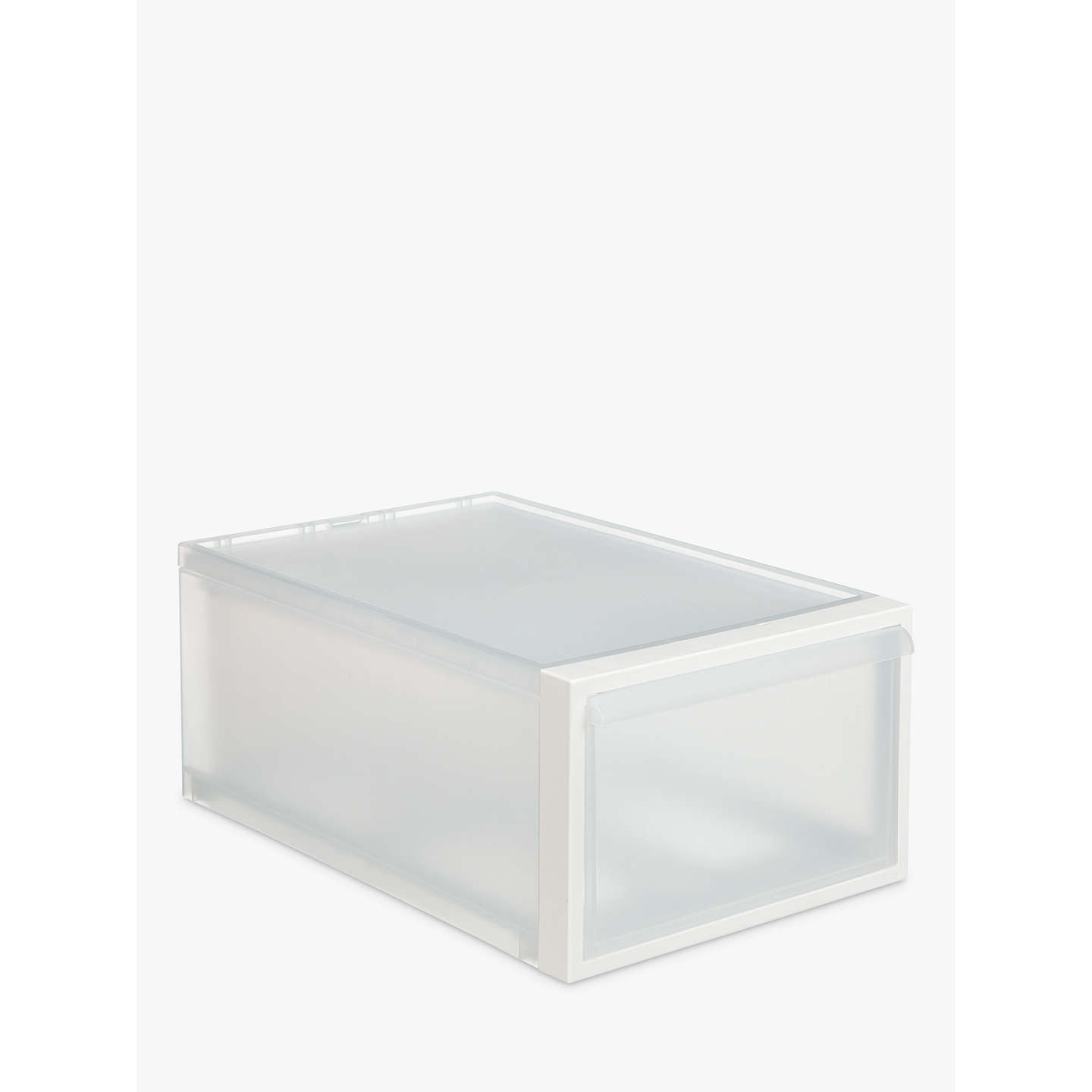 shoe drawers plastic storage web and small propped boxes storables closet profile x clear sweater box solutions