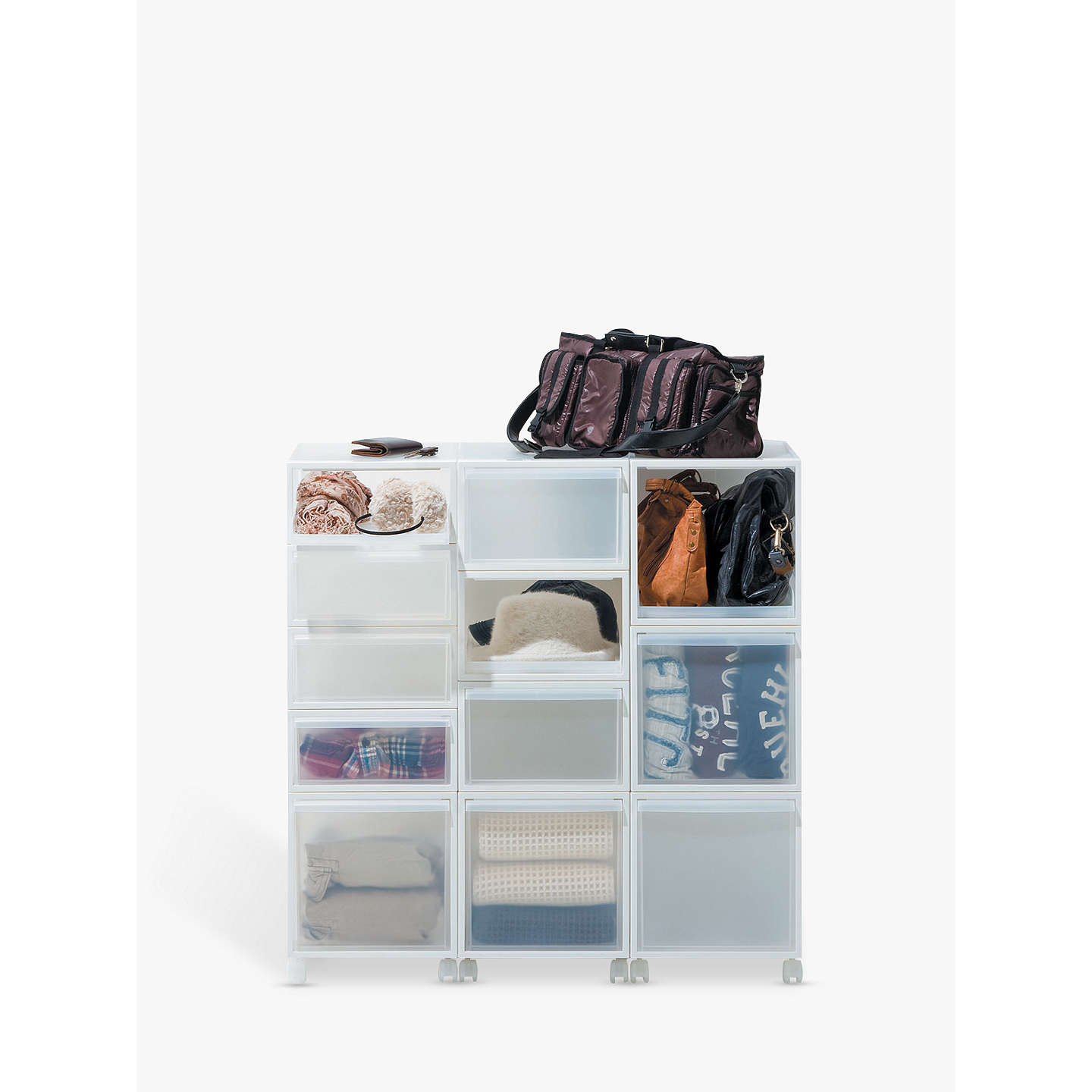 buy towers drawer storage white keter tower plastic home l with unit drawers