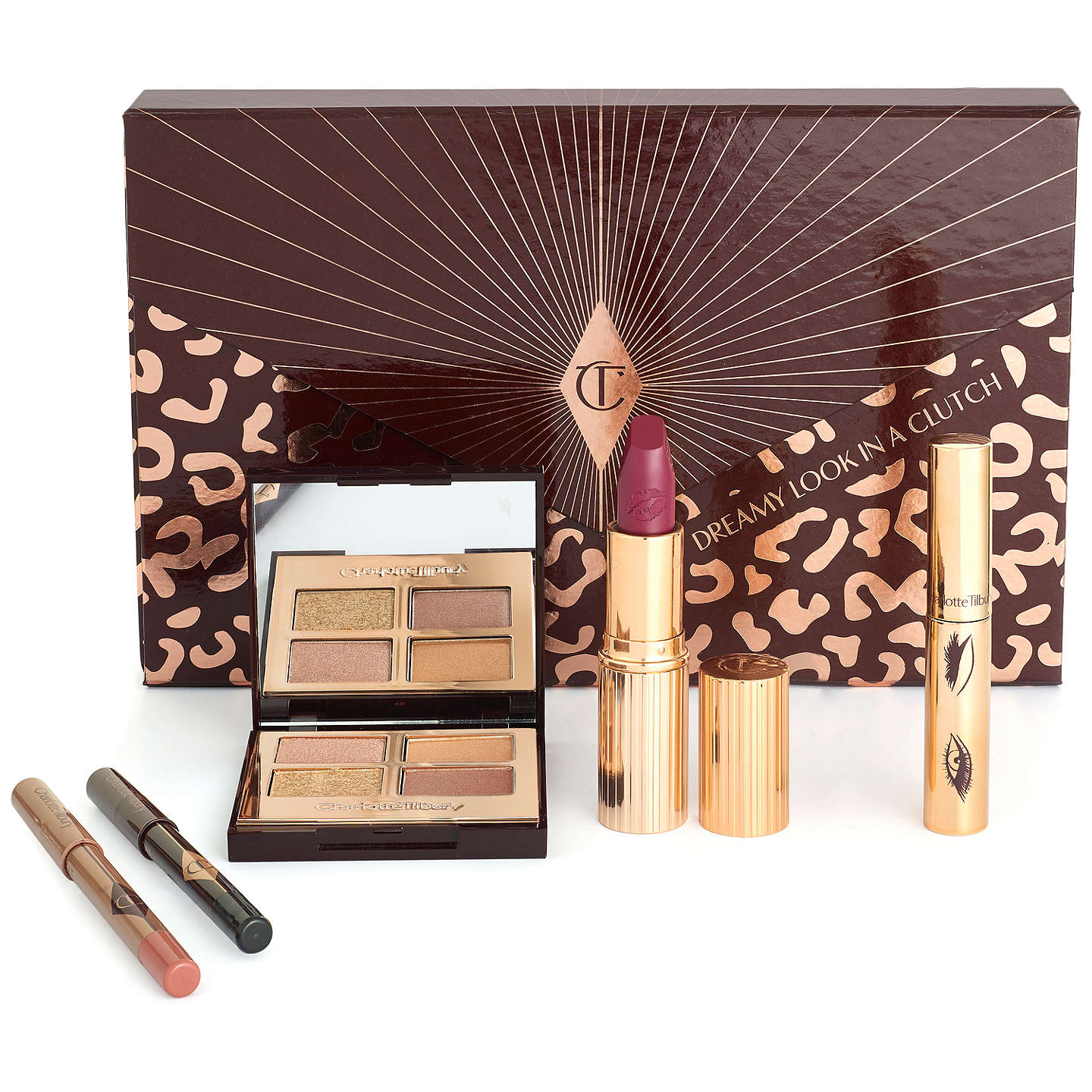 BuyCharlotte Tilbury Dreamy Look In A Clutch Makeup Gift Set Online at johnlewis.com