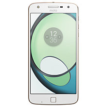 "Buy Moto Z Play Smartphone, Android, 5.5"", 4G LTE, SIM Free, 32GB Online at johnlewis.com"