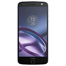 "Buy Moto Z Smartphone, Android, 5.5"", 4G LTE, SIM Free, 32GB Online at johnlewis.com"