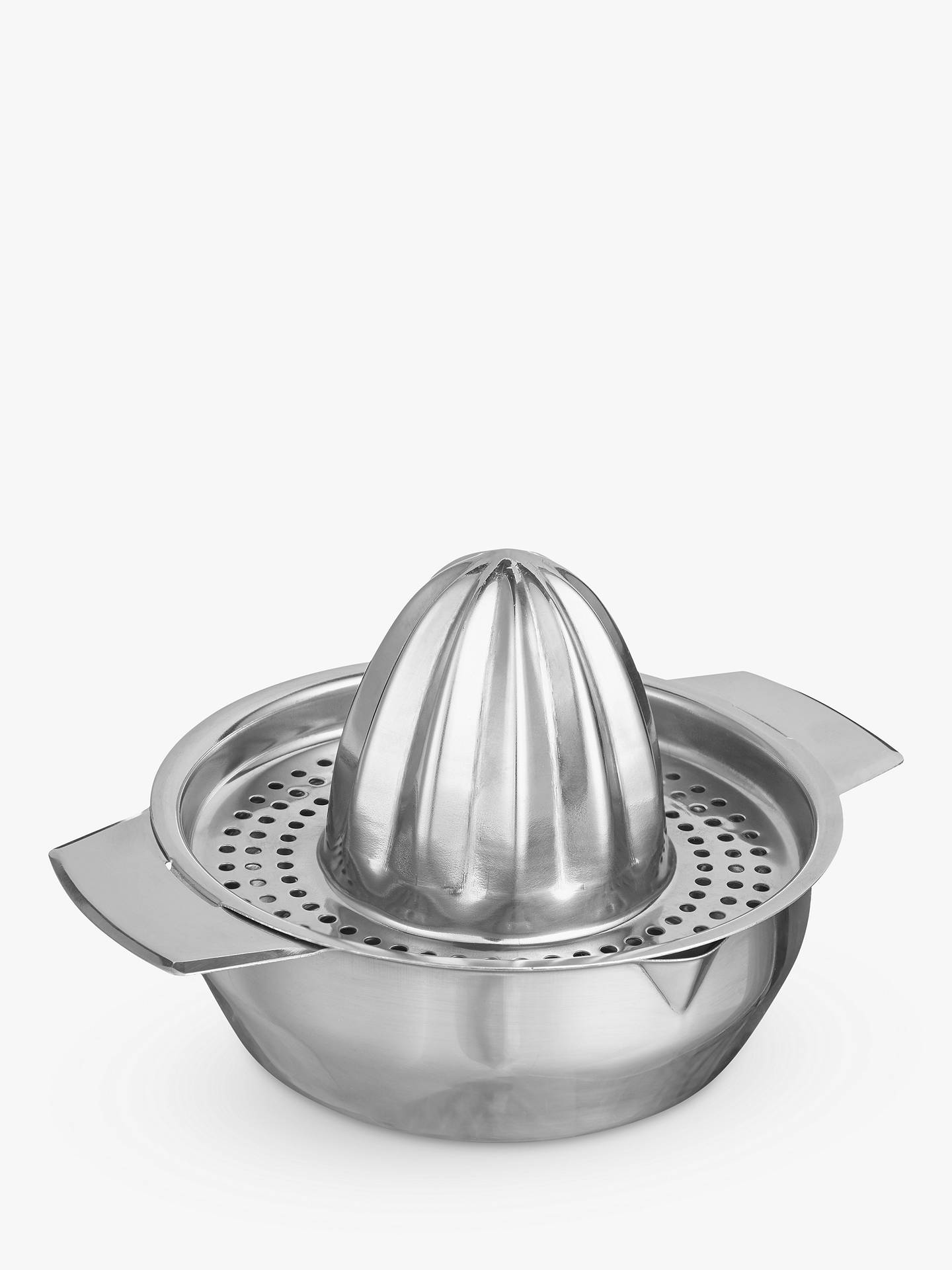 BuyJohn Lewis & Partners Stainless Steel Citrus Squeezer Online at johnlewis.com