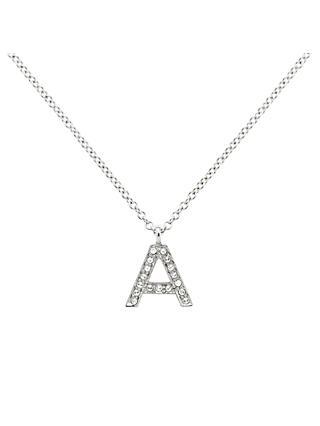 b342bb7d5ec74 Initials | Women's Necklaces | John Lewis & Partners