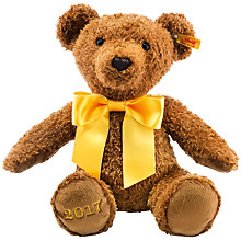 Buy Steiff Cosy 2017 Year Teddy Bear, Brown, 34cm Online at johnlewis.com
