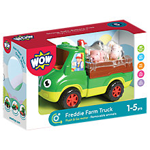 Buy WOW Toys Freddie Farm Truck Set Online at johnlewis.com