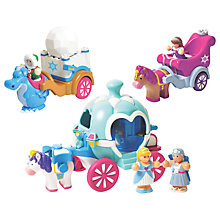Buy WOW Toys 3 in 1 Fairy Tale Snow Theme Set Online at johnlewis.com