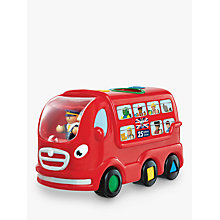 Buy WOW Toys London Bus Leo Set Online at johnlewis.com
